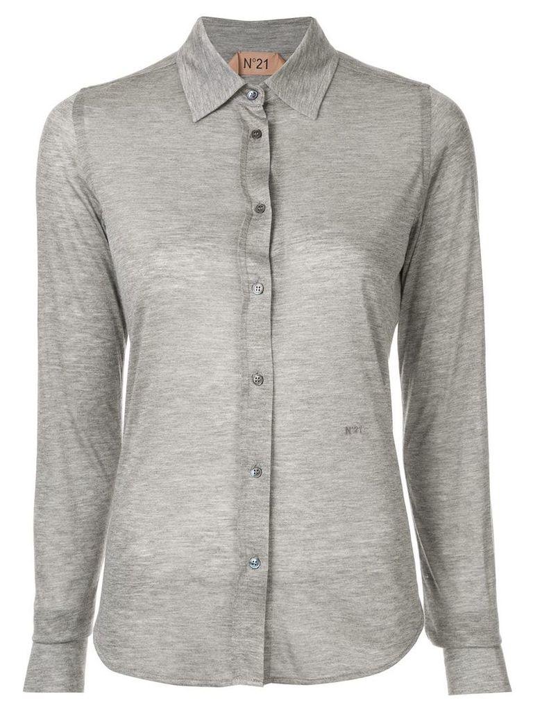 Nº21 sheer shirt - Grey