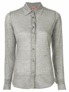 Nº21 sheer shirt - Grey