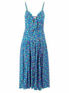 Lhd floral print dress - Blue