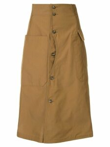 G.V.G.V. canvas skirt - Brown