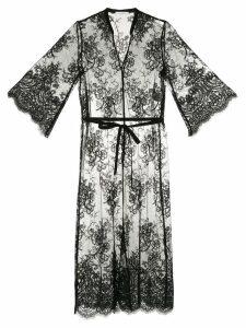 Guild Prime floral lace dress - Black