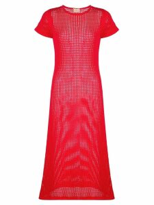 Lhd mesh dress - Red
