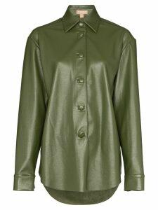 Matériel button-down shirt - Green