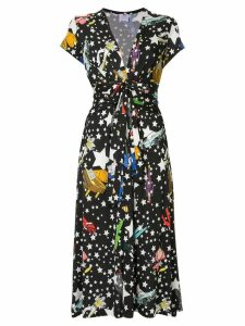 Ultràchic Paradise print dress - Black