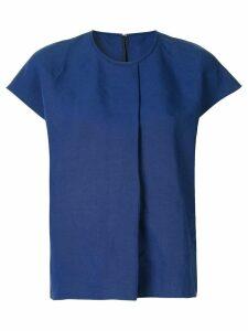 Ballsey front pleat blouse - Blue