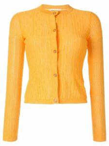 Sonia Rykiel ribbed cardigan - Yellow