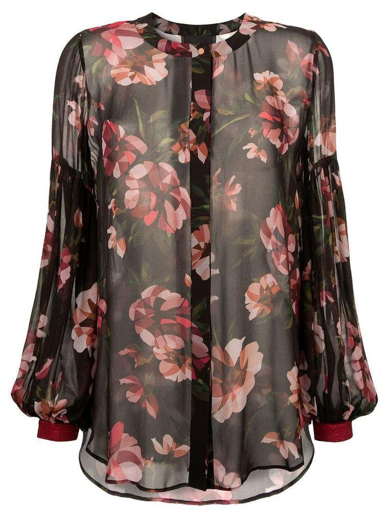 GINGER & SMART Fragment blouse - Brown