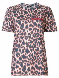 Calvin Klein 205W39nyc leopard print T-shirt - Multicolour