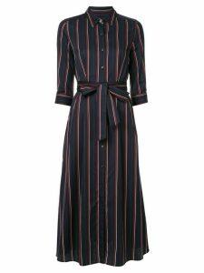 Loveless striped shirt dress - Blue