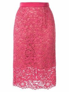 Loveless floral lace skirt - Pink