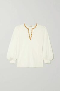 Zimmermann - Allia Floral-print Linen Maxi Dress - Emerald