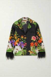 Faithfull The Brand - Marianne Floral-print Crepe De Chine Mini Dress - Mint