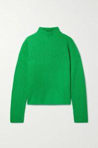 DÔEN - Jasmine Shirred Floral-print Cotton-poplin Maxi Dress - Blue