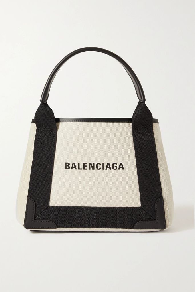 Balenciaga - Hourglass Pinstriped Wool And Cashmere-blend Blazer - Navy