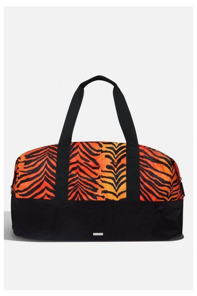 Womens **Corrine Tiger Gym Bag By Skinnydip - Multi, Multi