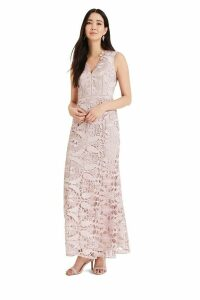 Womens Phase Eight Pink Zoey Guipure Lace Dress -  Pink