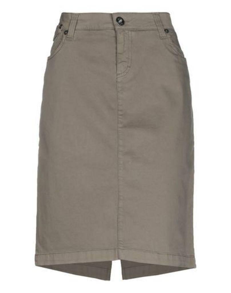 AJAY by LIU •JO SKIRTS Knee length skirts Women on YOOX.COM