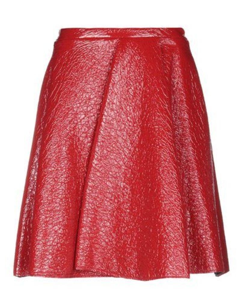MSGM SKIRTS Knee length skirts Women on YOOX.COM