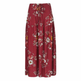 Betty London  KARATELLE  women's Skirt in Red