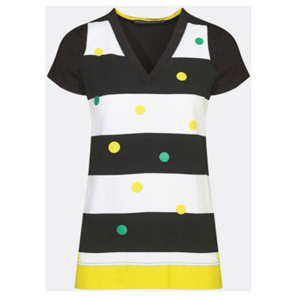 Mado Et Les Autres  Tunic with polka dots  women's Tunic dress in White