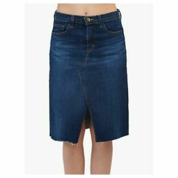J Brand Trystan High Rise Denim Pencil Skirt