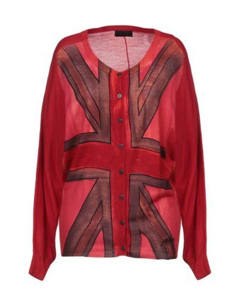 RICHMOND DENIM KNITWEAR Cardigans Women on YOOX.COM