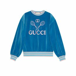 Sweatshirt with Gucci Tennis