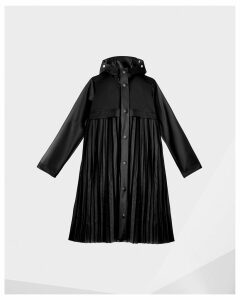 Women's Original Pleated Vinyl Waterproof Coat