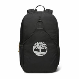 Timberland Large Bungee Backpack In Black Black Unisex, Size ONE