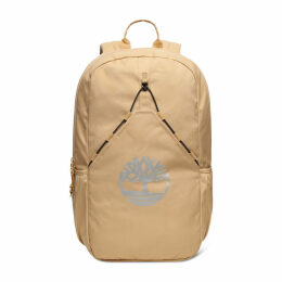 Timberland Large Bungee Backpack In Beige Beige Unisex, Size ONE