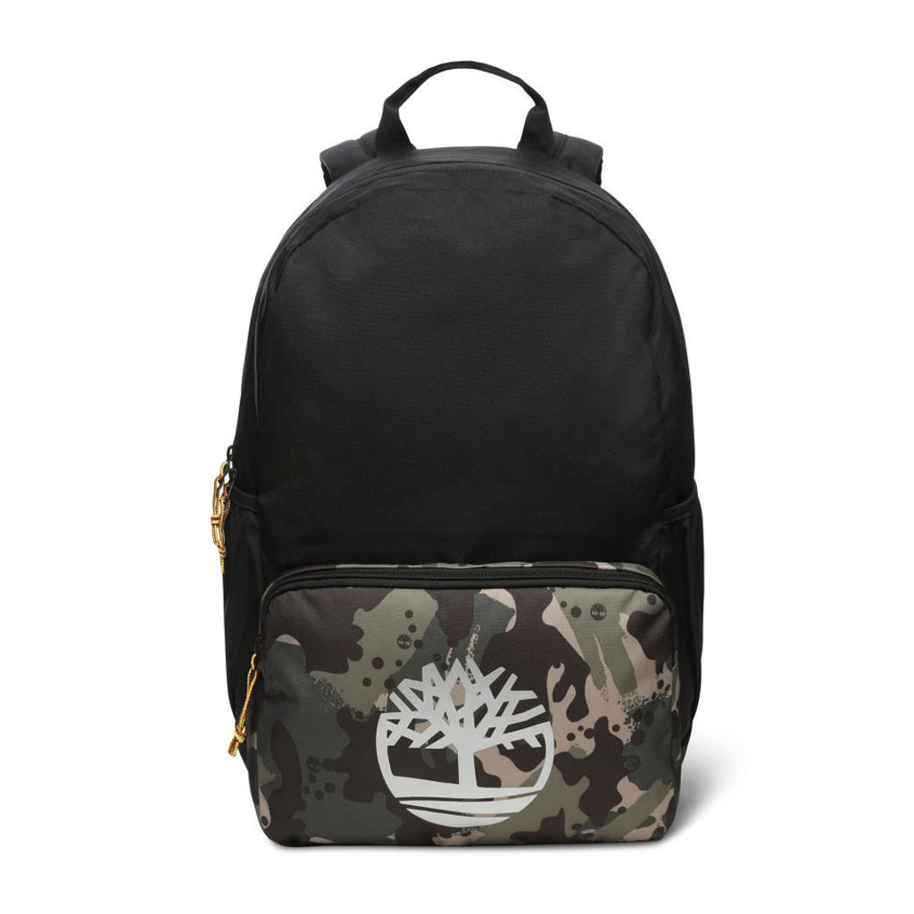Timberland Camo Print Backpack In Multicoloured Multicoloured Unisex, Size ONE