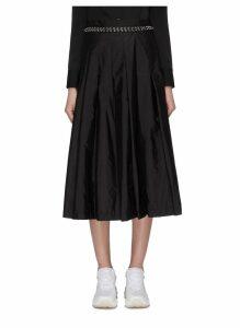 x Noir Kei Ninomiya eyelet waist pleated skirt