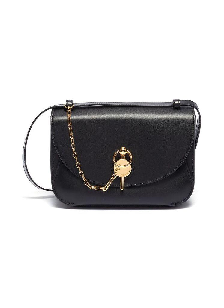 'Keyts' chain pin leather crossbody bag