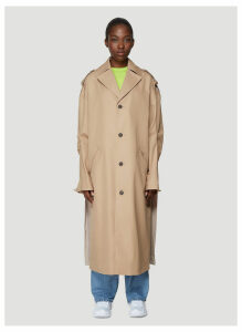 Ader Error Manteau Trench Coat in Beige size One Size