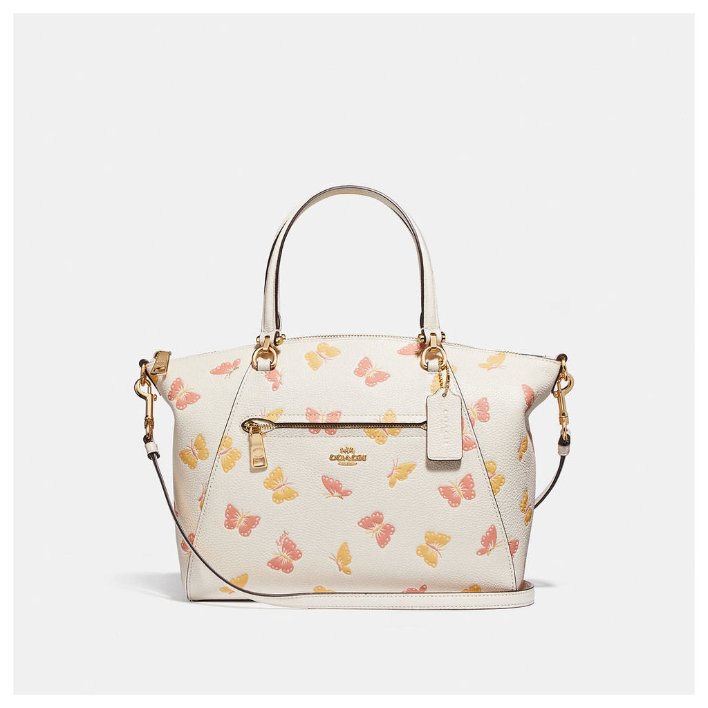 Coach Prairie Satchel With Butterfly Print