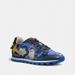 Coach Horse And Carriage Silk Square Scarf