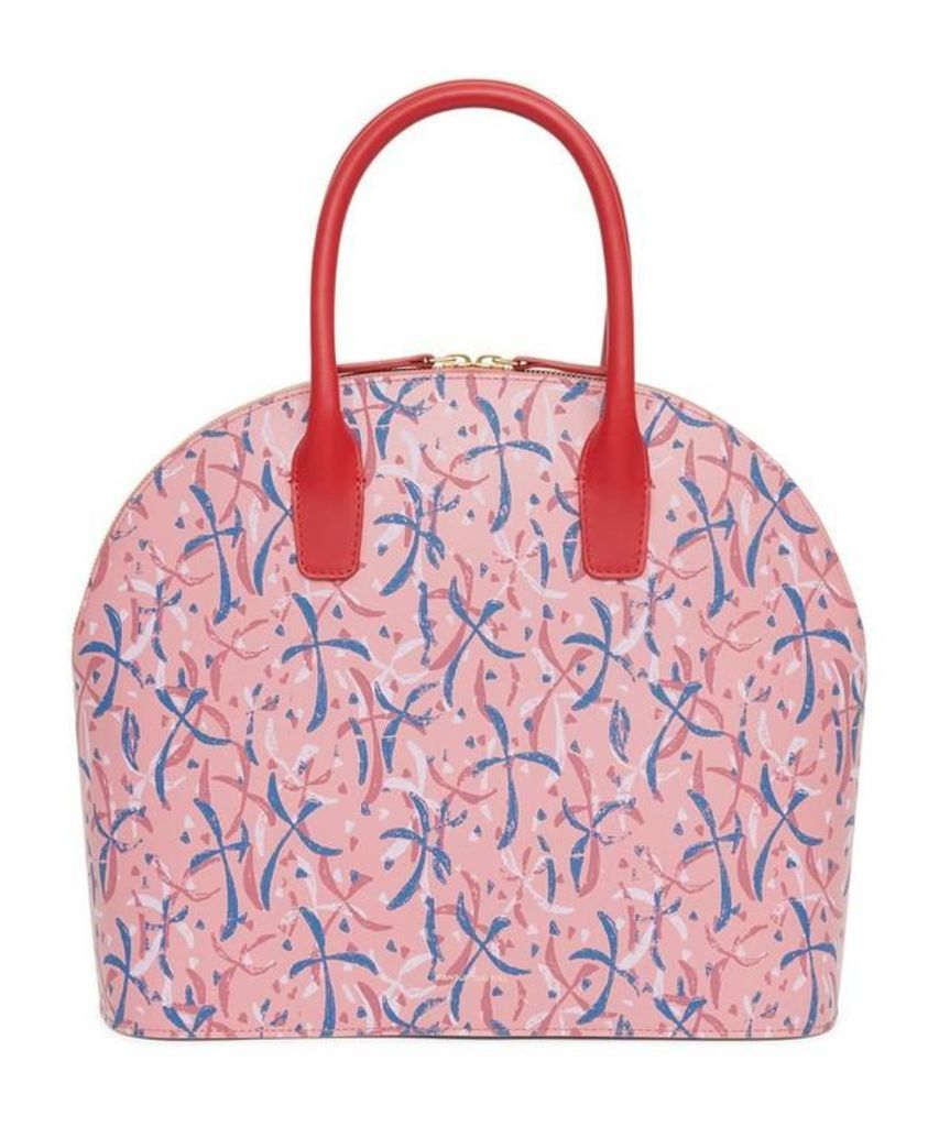 X Marc Camille Chaimowicz Leather Top Handle Rounded Bag