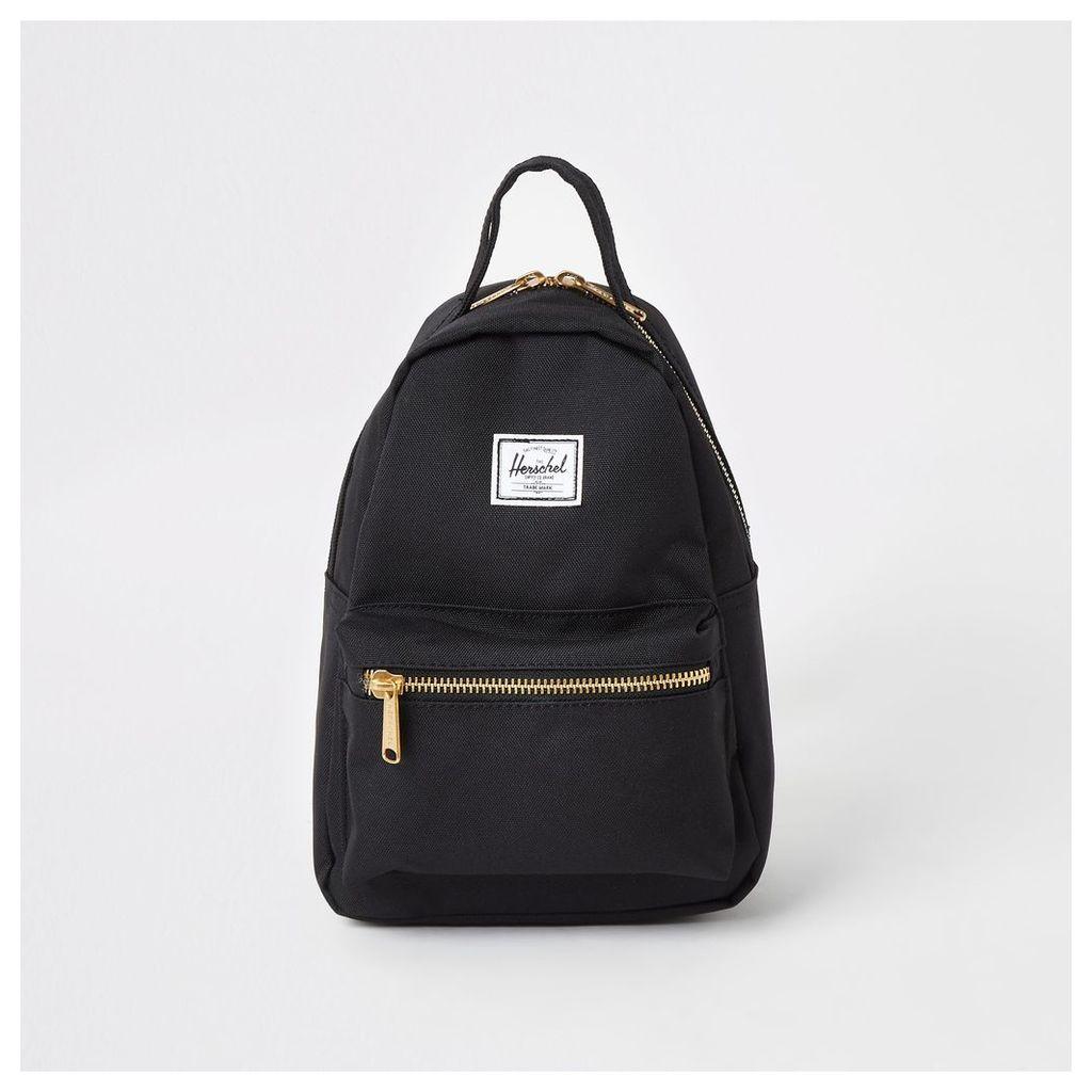 Womens Herschel Black Nova backpack