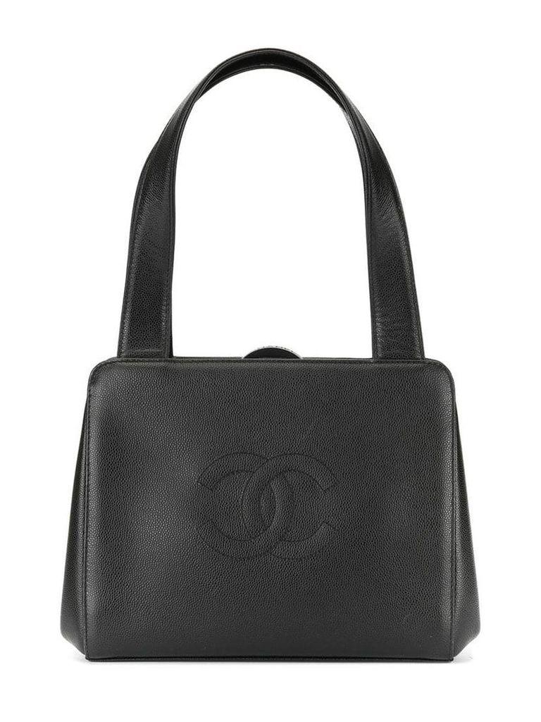 Chanel Vintage CC stitch handbag - Black