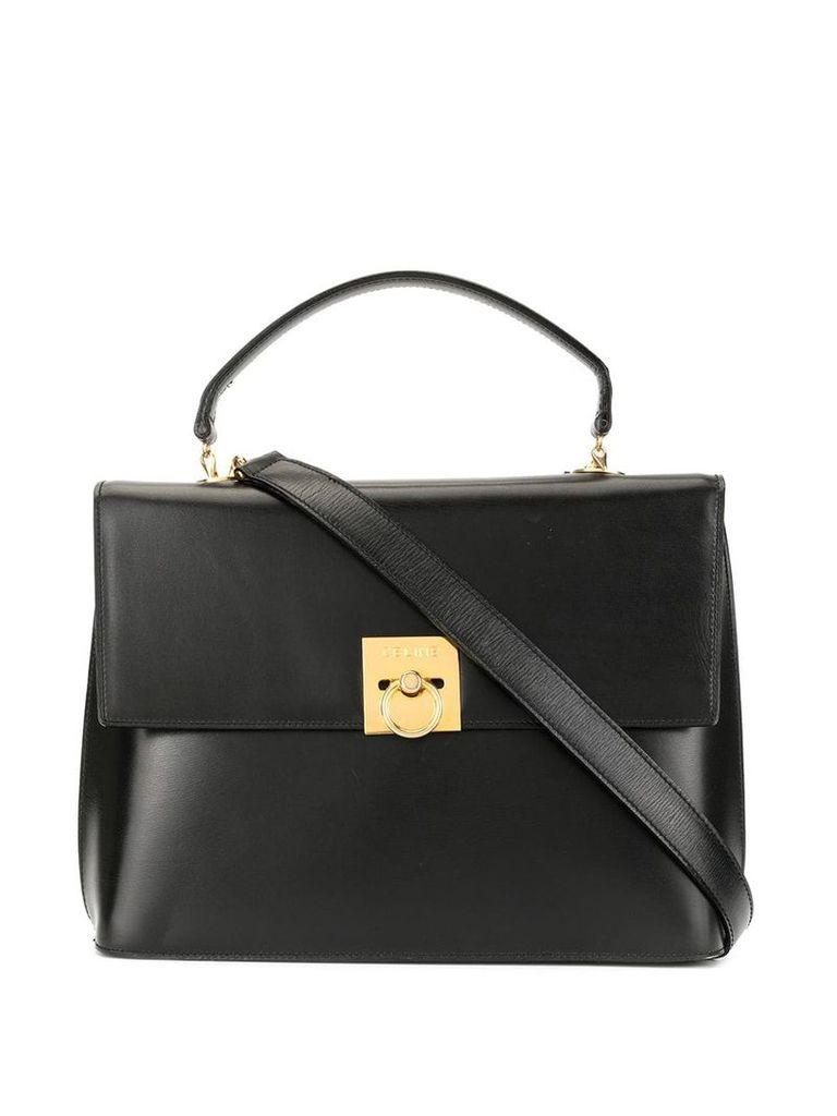 Céline Vintage logo 2way bag - Black