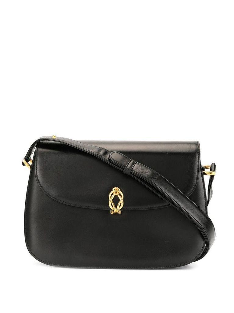 Gucci Vintage Twist Clasp shoulder bag - Black