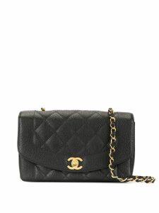 Chanel Pre-Owned Diana shoulder bag - Black