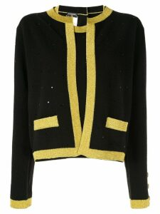 Chanel Pre-Owned CHANEL CC Ensemble Cardigan Tops - Black