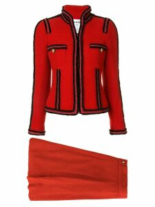 Chanel Pre-Owned two-piece skirt suit - Red