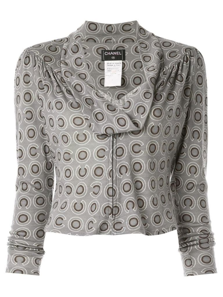 Chanel Vintage CC long sleeve tops - Grey