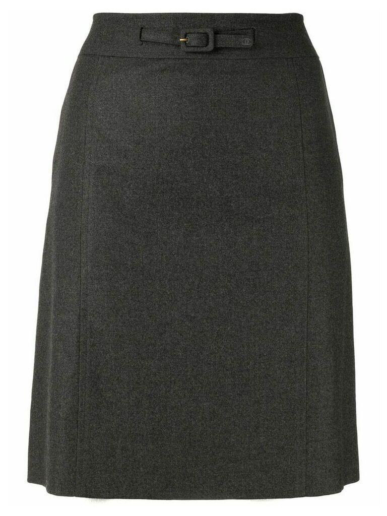 Chanel Vintage A-line skirt - Grey
