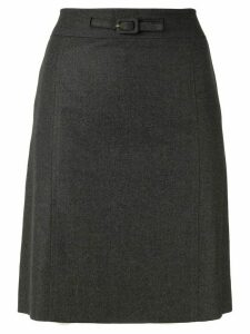 Chanel Pre-Owned A-line skirt - Grey