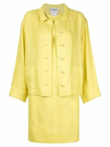 Chanel Pre-Owned two-piece dress suit - Yellow