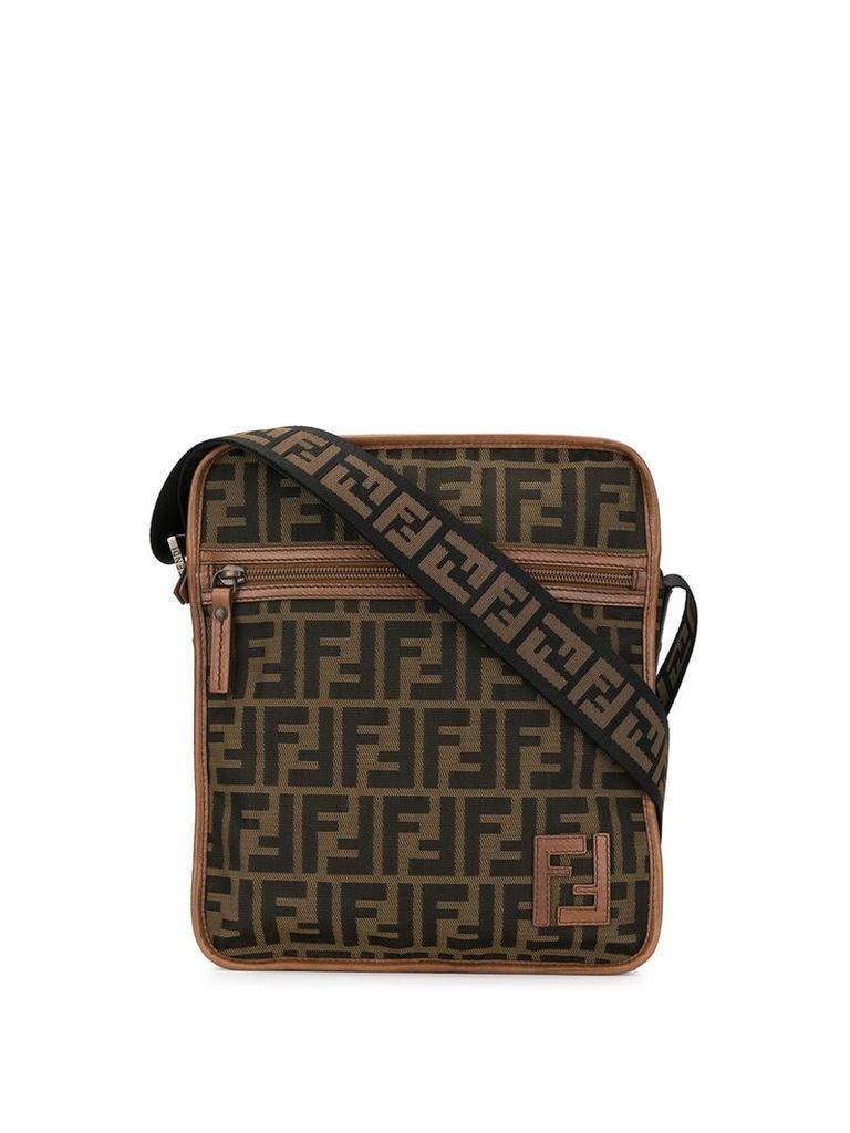 Fendi Vintage Zucca pattern shoulder bag - Brown