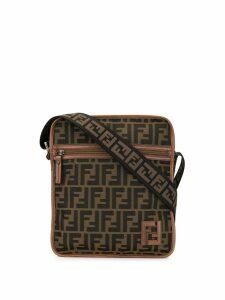 Fendi Pre-Owned Zucca pattern shoulder bag - Brown